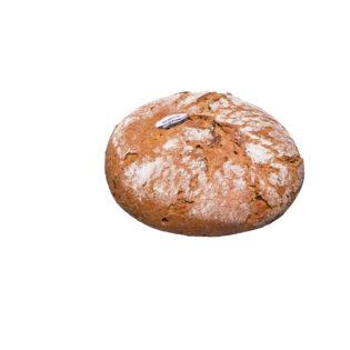 Der Brotklassiker mit hauseigenem Bio-3-Stufen-Roggensauerteig gebacken und Kümmel abgeschmeckt.