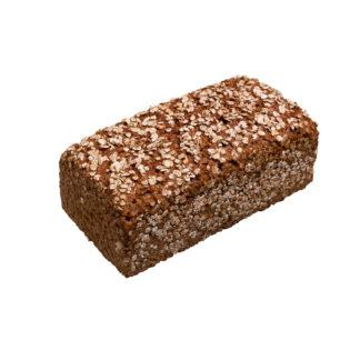 Roggenvollkornbrot aus 100 % Roggenvollkornmehl, Wasser und Salz - ohne Hefe