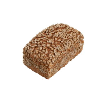 100 % Roggenvollkornbrot mit Sonnenblumenkernen verfeinert, ohne Hefe, nur mit Getreide, Brunnenwasser und Steinsalz gebacken